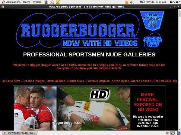 Join Rugger Bugger With Paypal